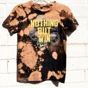 Nike Tie Dye Nothing But Win Basketball Tee Shirt